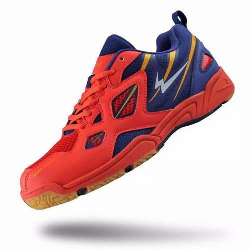 Foto Produk EAGLE CENTURIONS (100% ORI) Sepatu Badminton - Fiery/Biru, 38 dari Medium_wear