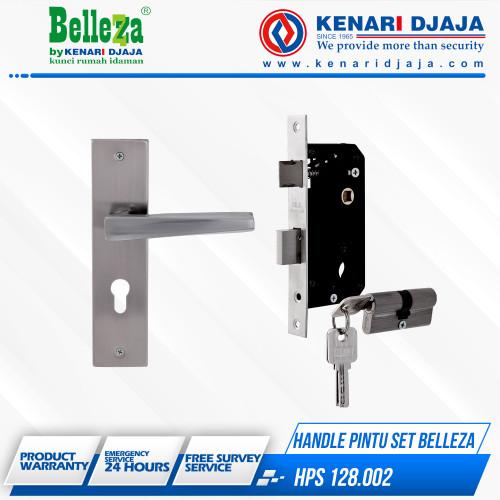 Foto Produk GAGANG PINTU Handle pintu Set Bellezza HPS 128.002 dari Kenari Djaja