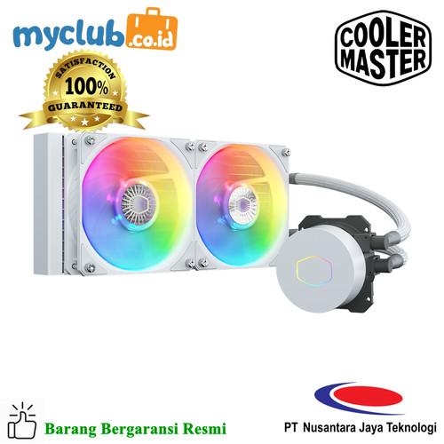 Foto Produk Cooler Master ML240L V2 ARGB White [MLW-D24M-A18PW-RW] dari Myclub