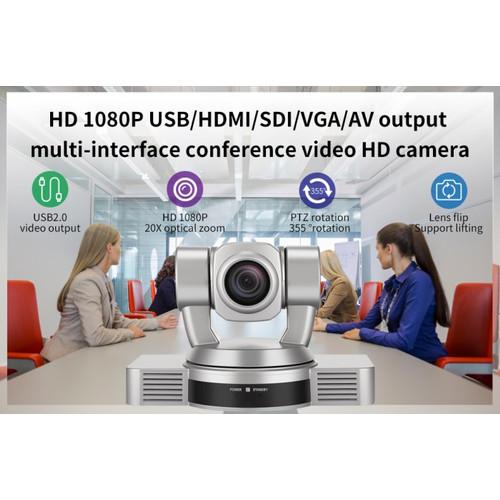 Foto Produk ROBOTIC WEBCAM PTZ HOSODO HD20S HDMI SDI VGA AV USB 20X RAPAT KANTOR dari EtalaseBelanja