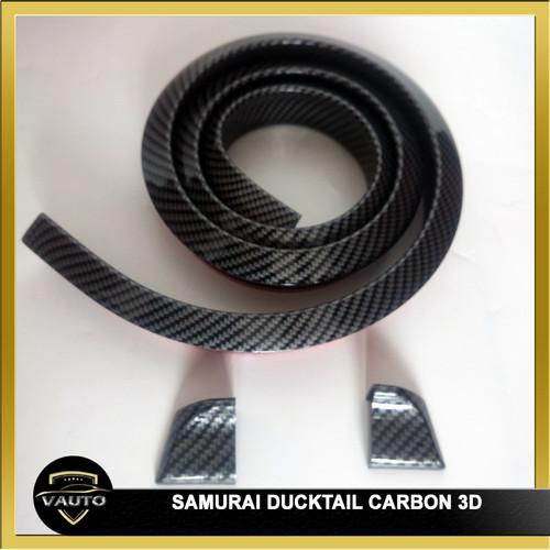 Foto Produk Samurai Ducktail Carbon 3D - Lips Dcktail Carbon 3D dari vauto