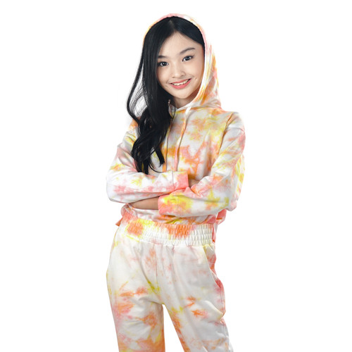 Foto Produk KIDS ICON - Hoodie Tie Dye Anak Perempuan CURLY 04-14thn - LY400200210 - 4 thn dari Kids Icon