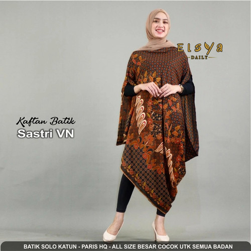 Foto Produk kaftan batik satri vn paris premium dari Jivan Batik