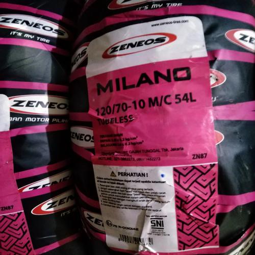 Foto Produk ban vespa ZENEOS MILANO 120/70-10 ring 10 dari raindry store