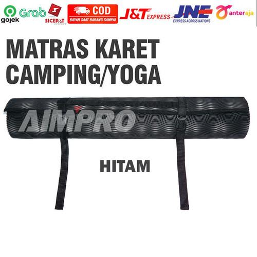Foto Produk Matras Camping Outdoor Matras yoga - Matras Olahraga - Matras Gunung - 180X60CM HITAM dari AIMPRO