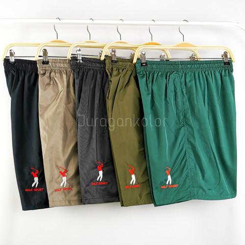 Foto Produk Celana Pendek Bordil Polos Pria -STD dari JuraganKolor
