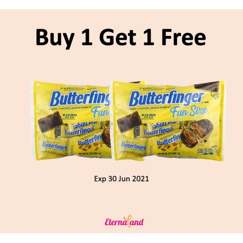 Foto Produk Nestle Butterfinger - cokelat impor butterfinger - 10.2 oz - 289 g dari Eternaland