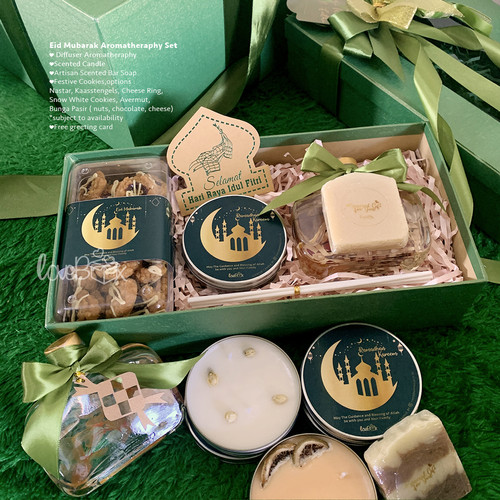 Foto Produk Gift Box Hampers Lebaran – Eid Mubarak Aromatherapy Set dari LoveBoxGiftBox