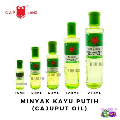 Foto Produk Minyak Kayu Putih Cap Lang Cajuput Eucalyptus Oil 15 30 60 120 210 ML - 15 ml dari Robiko