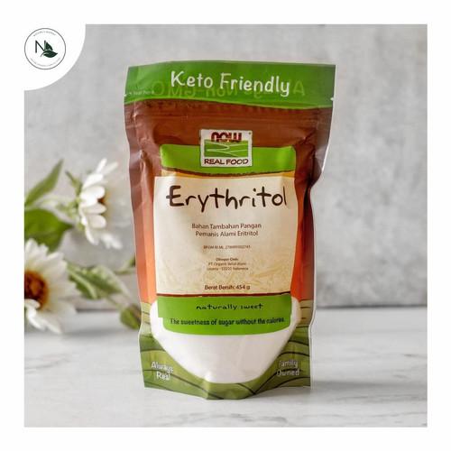 Foto Produk Now Foods Real Foods Organic Erythritol 454gr dari naturesmarket