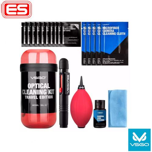 Foto Produk VSGO Travel Cleaning KIT DKL-15 Red dari Ennergy Solutions