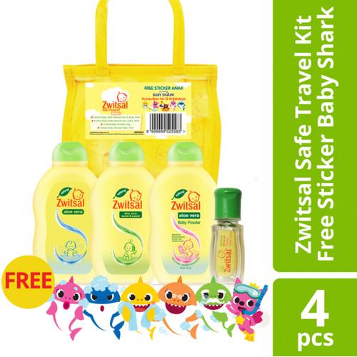 Foto Produk Zwitsal Mini Travel Pack Baby Gifset - Baby Travel Pack dari Unilever Official Store