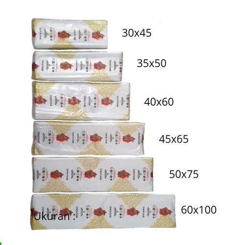 Foto Produk Kantong Plastik PP Bening Merk Wayang untuk Laundry Kiloan - 500 gram - 30 X 45 dari Wahana Serba Ada
