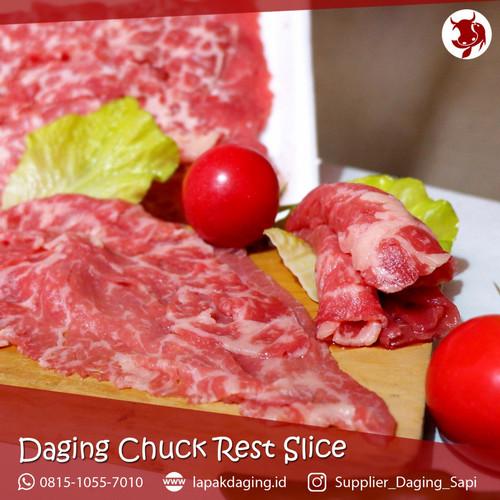 Foto Produk Daging Slice Chuck Rest AUS 500gram dari BERKAH JAYA MEAT