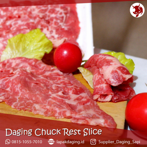 Foto Produk Daging Slice Chuck Rest AUS 1kg dari BERKAH JAYA MEAT