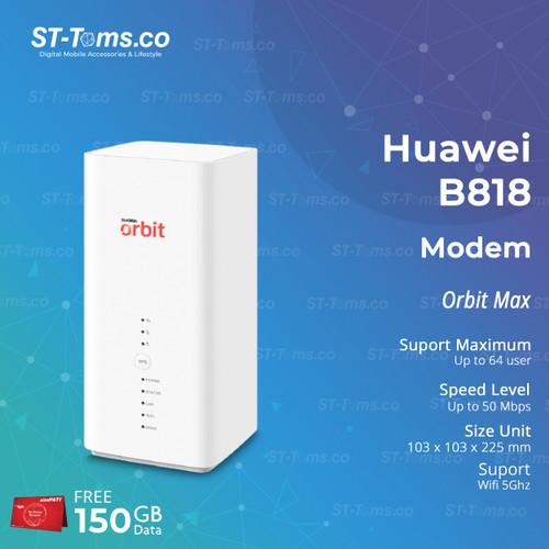 Foto Produk Huawei B818 Modem Orbit Max Telkomsel dari ST-Toms.co