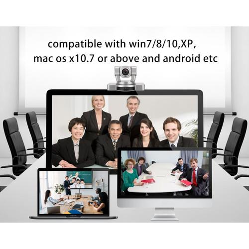 Foto Produk ROBOTIC WEBCAM PTZ HOSODO HD20S MEETING HDMI SDI VGA AV USB 20X Optic dari EtalaseBelanja
