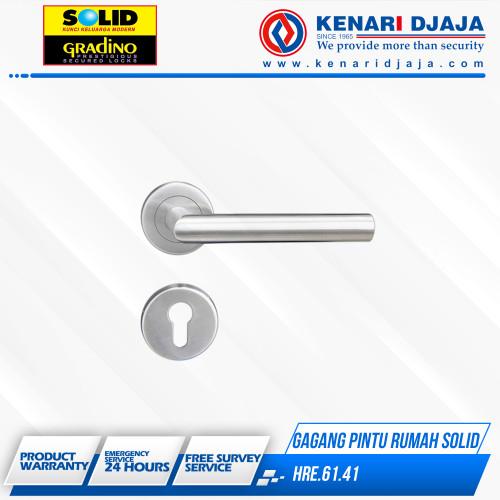 Foto Produk Gagang Pintu Handle Pintu Rumah Solid HRE.61.41 dari Kenari Djaja
