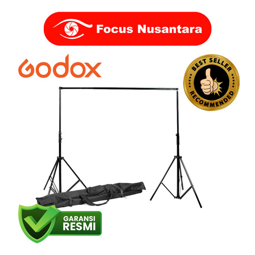 Foto Produk GODOX BS-04 Retractable Background Stand with Carring Bag dari Focus Nusantara