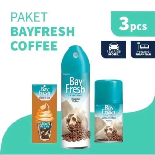 Foto Produk Paket Bayfresh Pengharum Ruangan Coffee dari SC Johnson & Son ID