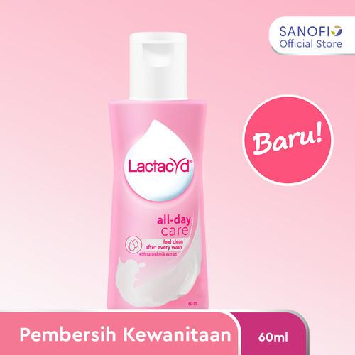 Foto Produk Lactacyd All Day Care Pembersih Kewanitaan 60ml dari Sanofi Official Store