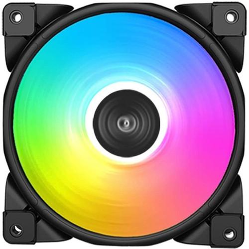 Foto Produk PAKET 6 UNIT Fan Casing PC Cooler FX-120-3 Dynamic Color 120mm dari Yoestore