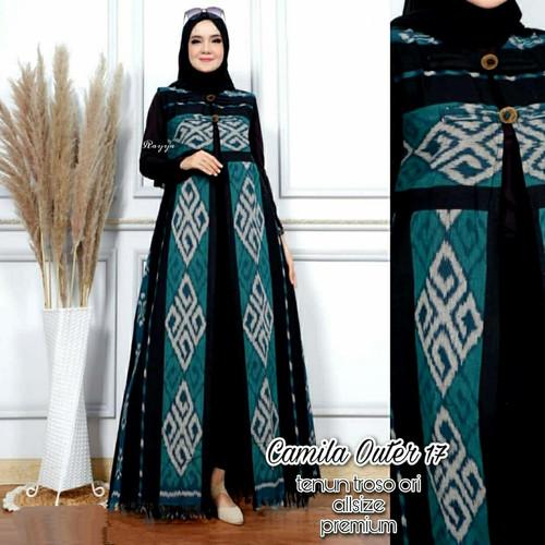 Foto Produk outwear wanita tenun camila outer dari Batik Sri