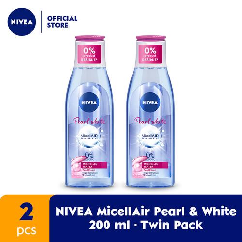Foto Produk NIVEA Face Care Micellair Pearl & White 200ml - Twin Pack dari NIVEA Official