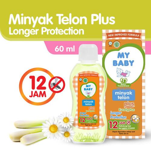 Foto Produk My Baby Minyak Telon Longer Protection 60 ml dari Tempo Store Official