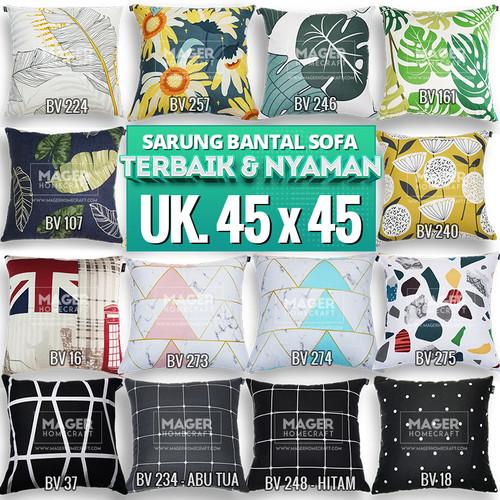 Foto Produk Sarung Bantal Sofa / Kursi - Uk. 45 x 45 dari Mager Homecraft