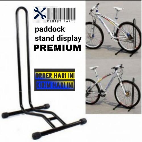 Foto Produk Paddock sepeda MTB/Seli/RB Stand Sepeda Premium - pedok Lipat dari HomeMD STORE
