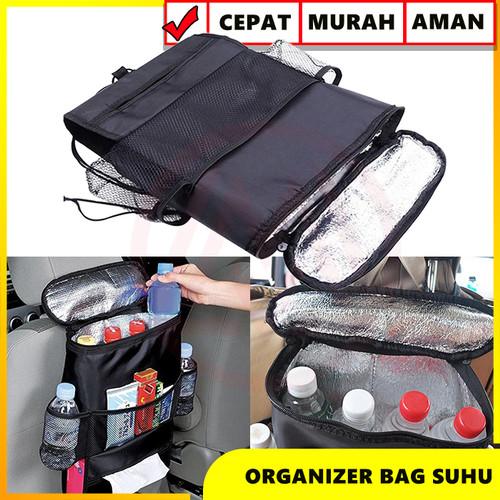 Foto Produk Car Seat Organizer Tas Penahan Suhu Panas Dingin Mobil Multifungsi dari Modifikasi Market