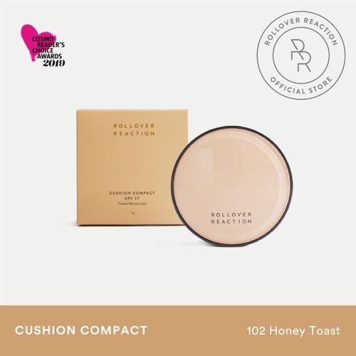 Foto Produk Cushion Compact Tinted Moisturizer - Rollover Reaction - Honey Toast dari Rollover Reaction