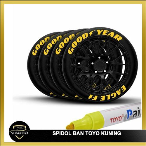 Foto Produk Spidol Ban TOYO Kuning / Paint Marker Toyo Yellwo High Quality dari vauto