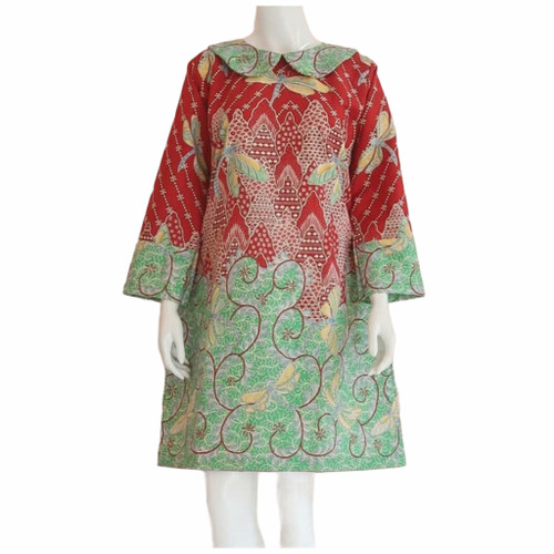 Foto Produk tunik batik wanita lapis tricot dari Batik Sri