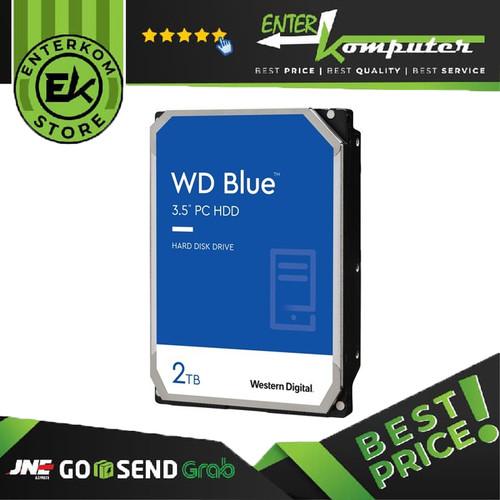 Foto Produk WDC 2TB SATA3 256MB - Blue - WD20EZBX / HDD 2TB dari Enter Komputer Official