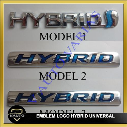 Foto Produk Emblem Logo Hybrid - Emblem Tempel Logo Hybrid - MODEL 1 dari vauto