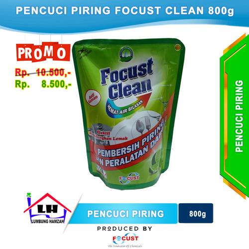 Foto Produk Sabun Cuci Piring Focust Clean Pouch 800 ml dari Toko Sabun Hamzah