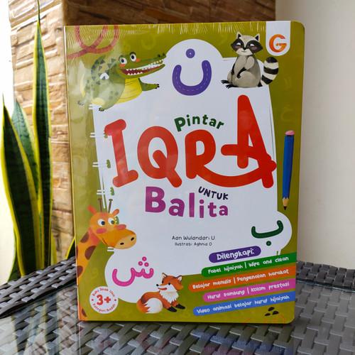 Foto Produk Buku IQRO Balita - Buku Anak BoardBook Pintar Iqro Untuk Balita dari ALIDA