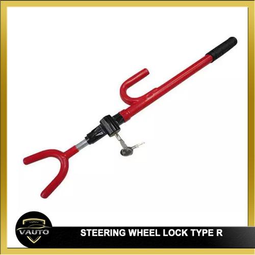 Foto Produk Kunci Stir Mobil / Steering Wheel Lock Type R dari vauto