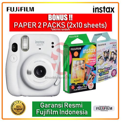 Foto Produk Fujifilm Instax Mini 11 Free Instax Paper - Ice White dari Sinarmutiara Online