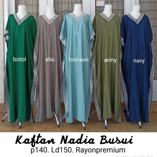 Foto Produk long dress/ daster teby/ daster arab / kaftan nadia busui dari Callista-Shop