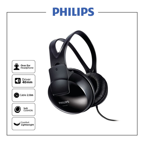 Foto Produk Philips indoor Headphone SHP 1900 dari Philips Audio Official
