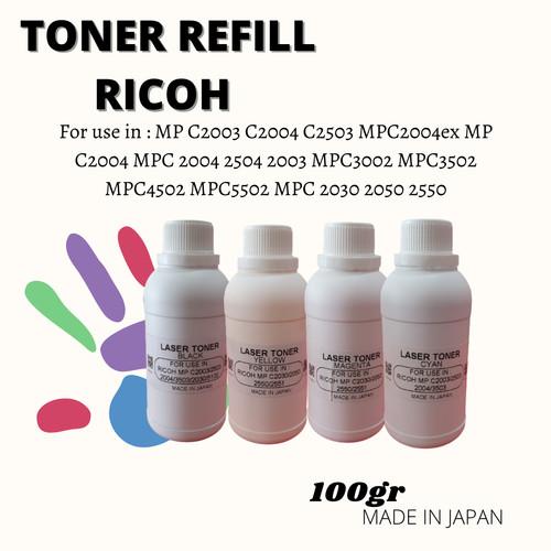 Foto Produk Toner Refill Ricoh Pro C5100s 5100 100gr dari Wirama Refill Center
