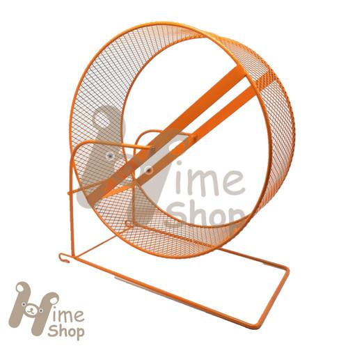 Foto Produk DaYang Jogging Wheel 18 Mainan Roda Putar Besi Running Ferret Chinchil - Orange dari Hime petshop