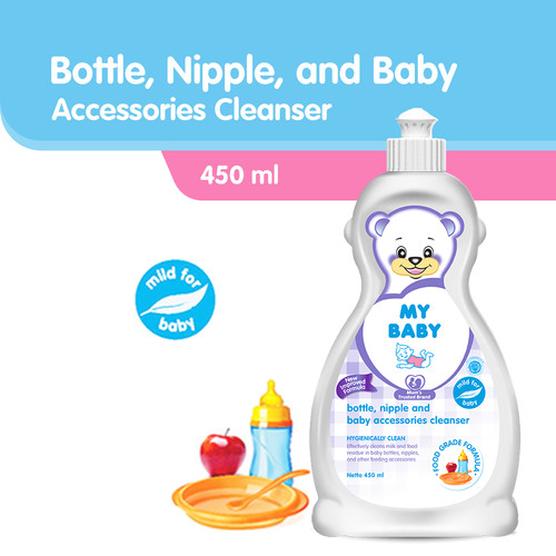 Foto Produk My Baby Bottle Nipple & Baby Accessories Cleanser 450 mL dari Tempo Store Official