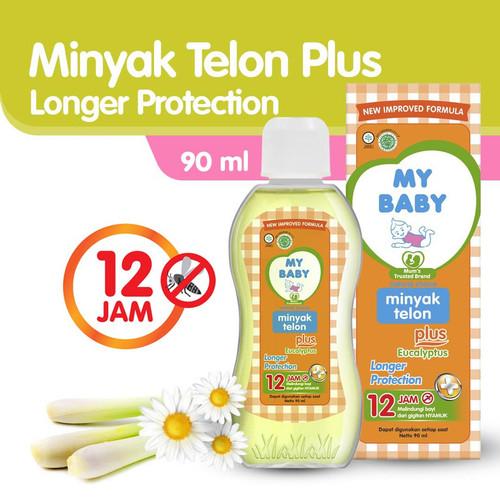 Foto Produk My Baby Minyak Telon Longer Protection 90 ml dari Tempo Store Official