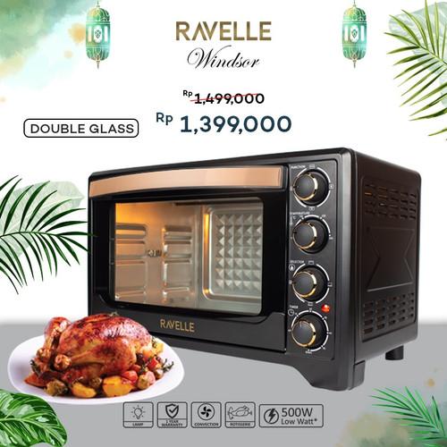 Foto Produk OVEN LISTRIK 38L - RAVELLE WINDSOR ELECTRIC OVEN 38 Liter dari Gastroline Indonesia