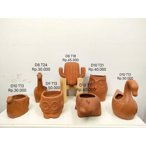 Foto Produk Pot Tanaman Tanah Liat Gerabah Terakota Terracotta W35 dari soulmatebedsheet