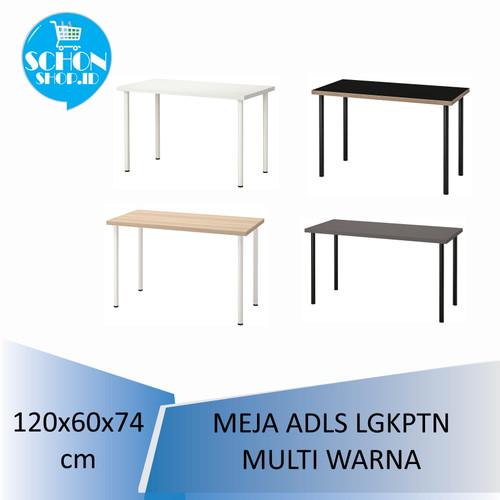 Foto Produk Meja Makan/ Meja Kerja /Meja Belajar Putih ADlLS LlNNMON 120x60cm - Putih dari schonshop